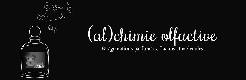 Alchimie Olfactive - Pérégrinations, parfumées, flacons et molécules