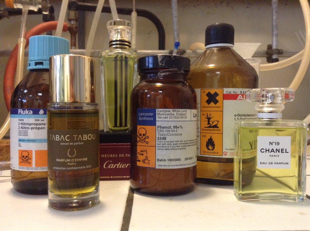 Parfums et produits chimiques