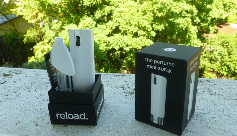 vaporisateur reload éléments boite