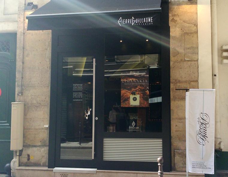 Devanture boutique Paris Parfumerie Générale