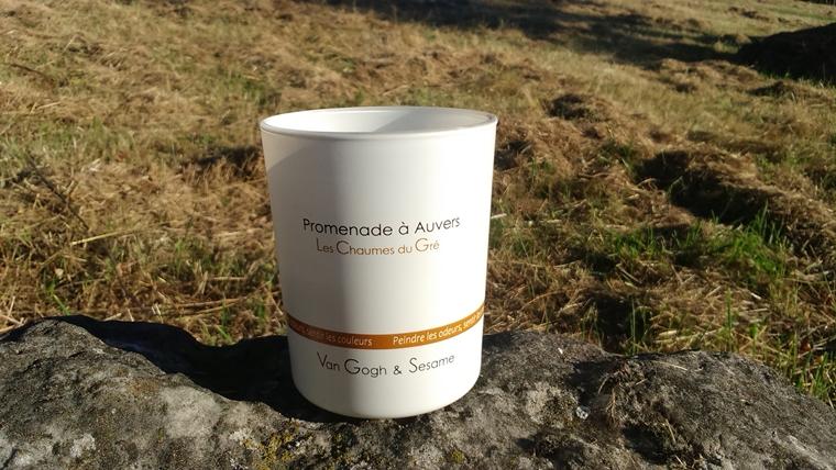 bougie Chaumes du Gré Promenade à Auvers