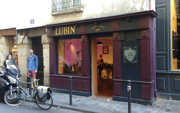 Devanture boutique Lubin