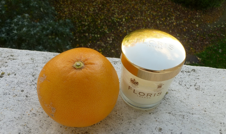 Floris London Grapefruit & rosemary bougie / candle