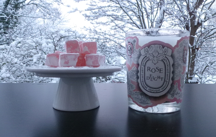bougie Rose delight diptyque
